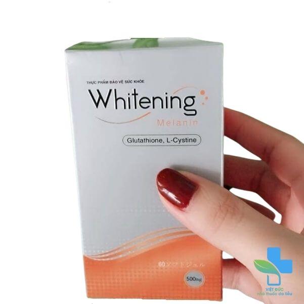 vien-uong-trang-da-whitening-melanin